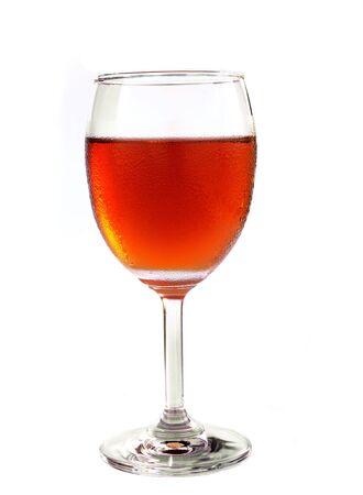 iced tea: iced tea isolated on white