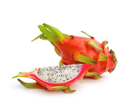 Dragon Fruit on white background  photo