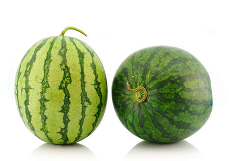 watermelon isolated on whiite background  photo