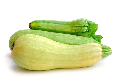 Zucchini isolated on a white background  photo