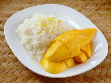 Sticky Rice with Mango  photo