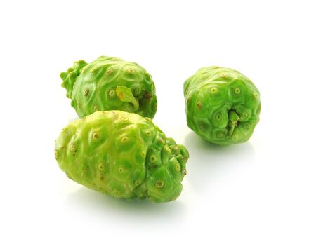 Exotic Fruit - Noni  on white photo