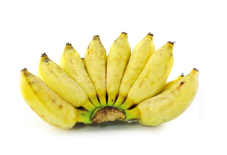 Cultivated banana ripe photo