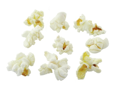 Pop Corn isolated on white background Stock Photo - 15171525