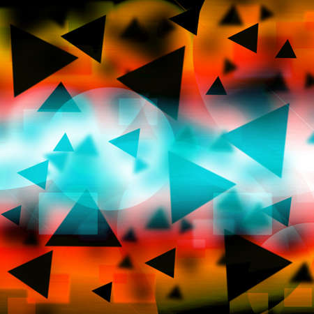 Abstract blue background Stock Photo - 16147758