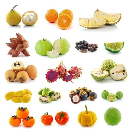 Tropical fruits. photo
