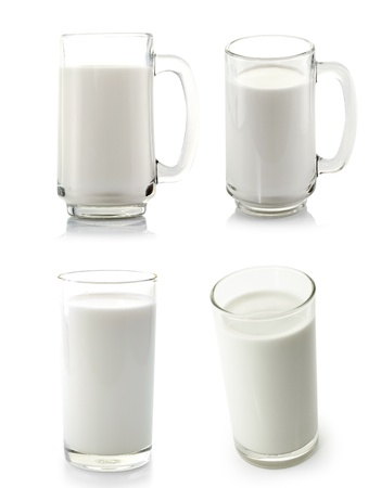 glass milk: vaso de leche