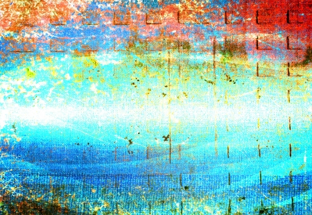 abstract the old grunge wall for background Stock Photo - 18526378