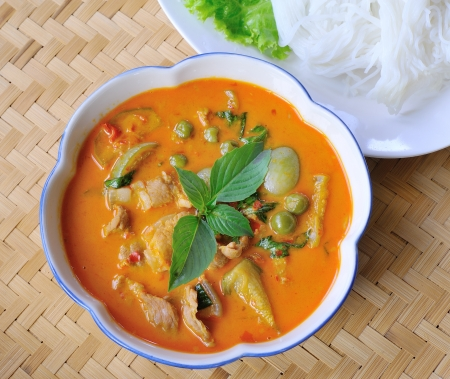 pork Curry , Thai cuisine Stock Photo - 18526200