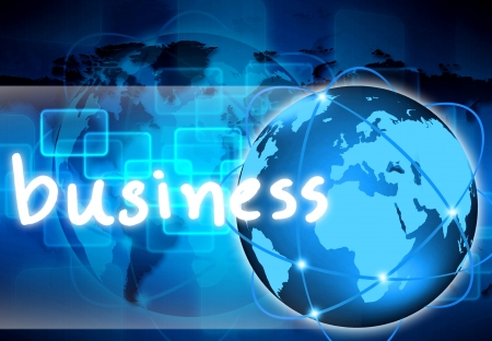 abstract the world business  photo