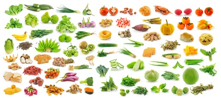 collection of fruit and Vegetables photo