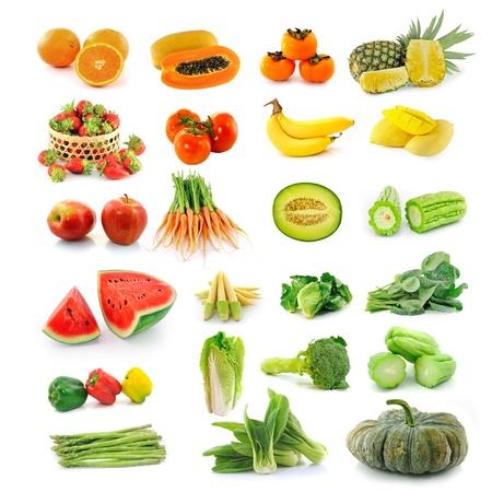 carotene: Fruits  vegetables. With beta carotene.