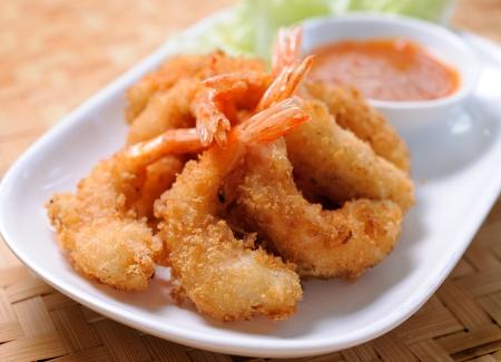 prepared shrimp: Fried Shrimp