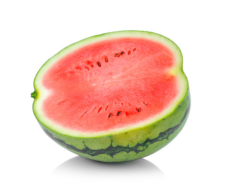 water melon isolated on white background photo