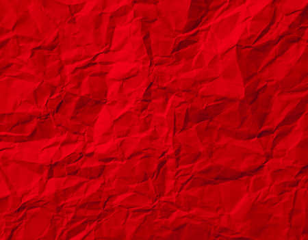 crumpled paper texture: Red Crumpled Paper Texture