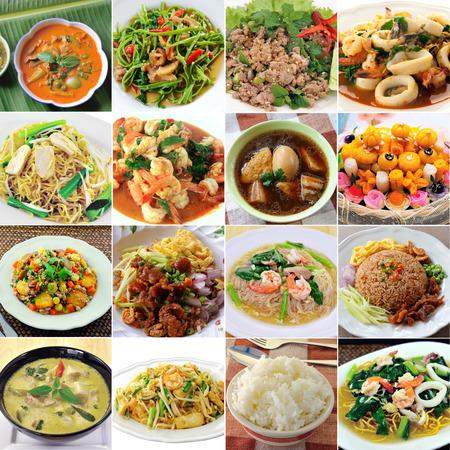 spring roll: thai food