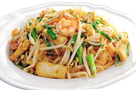 Thai style noodles , Pad thai Stok Fotoğraf - 28277342