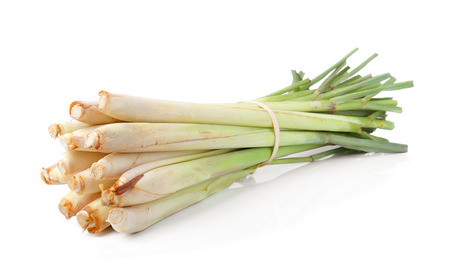 isoleted: lemongrass isoleted on white background