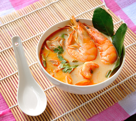 Tom Yam Kung (Thai cuisine) photo