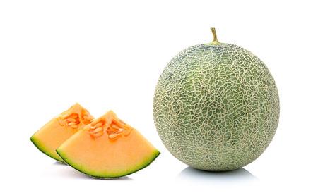 melon isolated on white background photo