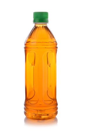 bottle of ice tea on white background Stock Photo - 35910330