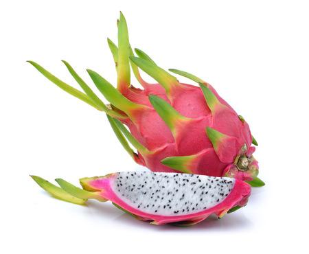 dragonfruit: dragonfruit on white background
