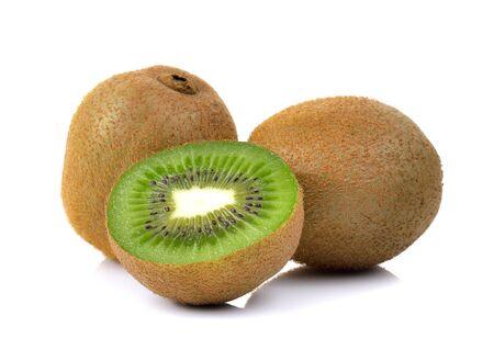 kiwi fruit on a white background photo
