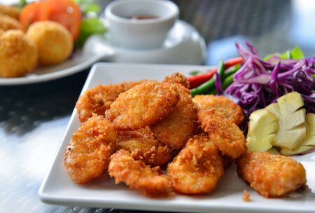 chinese food: fried sour pork, thailand food