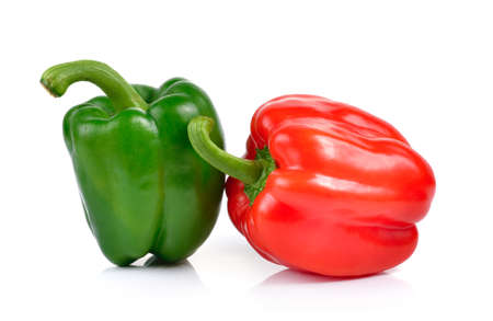 bell peper: peppers on white background