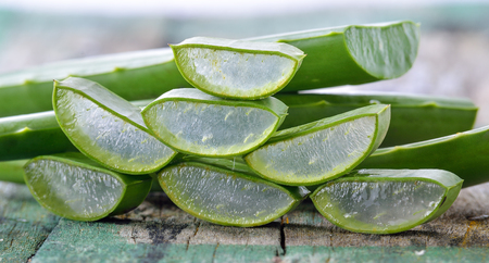 radicals: Aloe Vera use in spa for skin care