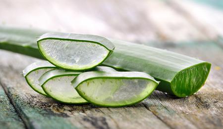 radicals: Aloe Vera use in spa for skin care