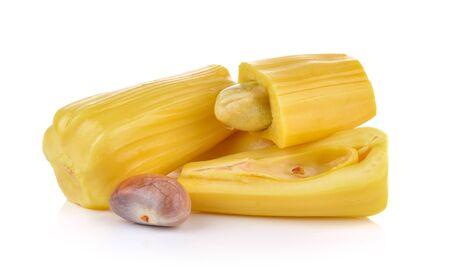 jack fruit: jack fruit on white background