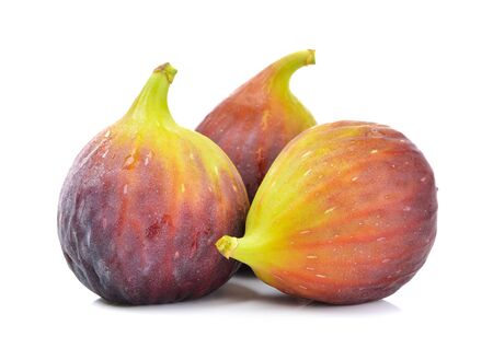 fig: fig on white background Stock Photo