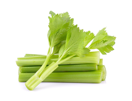 celery on white background Stockfoto