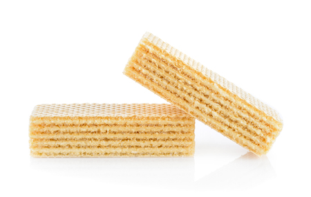 wafer dessert Stock Photo