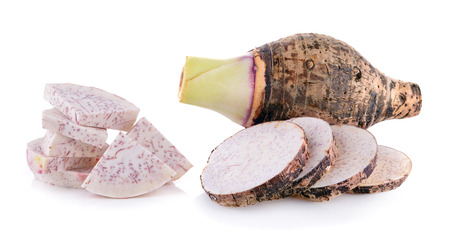taro root Standard-Bild