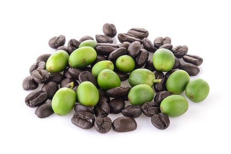 granos de cafe: coffee grains