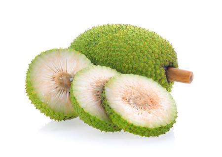 breadfruit isolated on white background Stock Photo