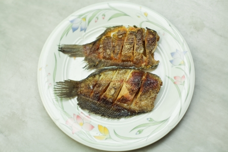 pectoralis: Fried pectoralis