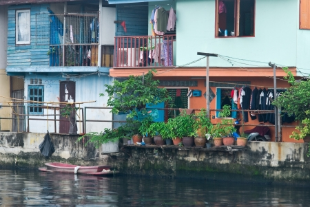stay home work: Thai waterfront home