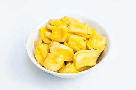 ambrosia: Jackfruit in the white bowl