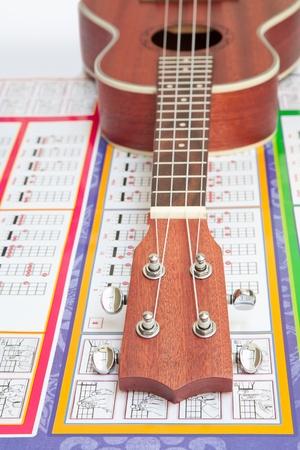 chords: Ukulele and chords paper
