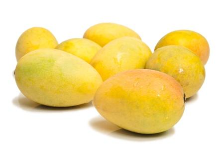 Ripe mangoes  photo