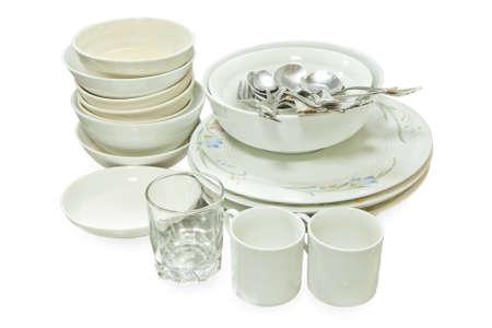 瀬戸物: Crockery, Kitchenware after use