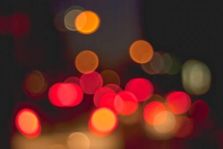 multicolored: De-focused lights multicolored Stock Photo