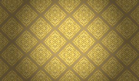 Thai art pattern, Backgrounds Illustration