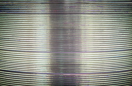 optical disk: Compact discs stack pattern, Background Stock Photo