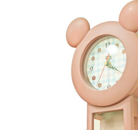 orologio da parete: orologio da parete Brown Archivio Fotografico