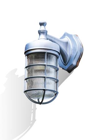 outdoor lighting: Outdoor lamp light mounted on wall, Exterior lighting equipment