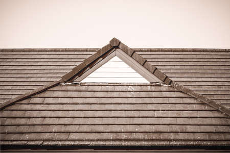 cope: Brown roof and white space